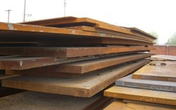 Corrosion Resistant Corten Steel A-B Plates