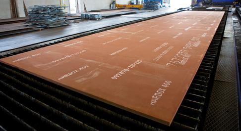 Abrasion Resistant Hardox Abrex 400-500 Plates